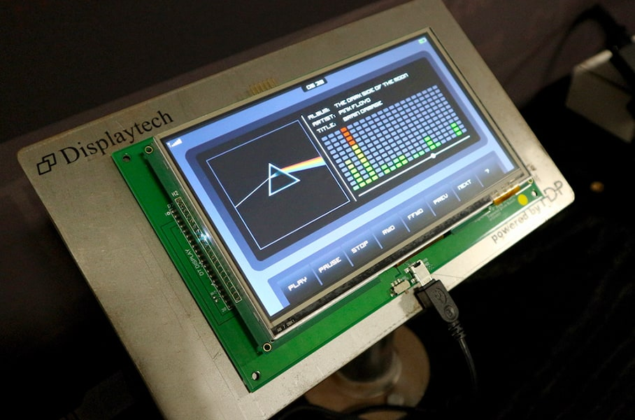 7-inch tft display