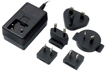 Wall Power Supply with Global Adapters